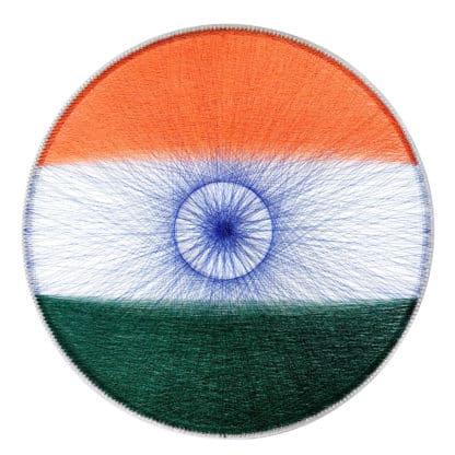 India tricolour string